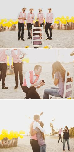 Isn't it unique way to #propose?#weddingproposal #orlandoweddingvenue #missioninnresort