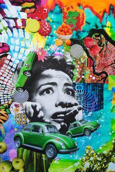 Drowning in Paper, John Turck Collage Music Collage, Collage Art, Vaporwave Art, Magazine Collage, Art Forms, Vintage Posters, Art Inspo, Fine Art America, Pop Art