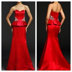 Jovani 20925 for $735. Available in Red, Black, Ivory and Royal. #miabellacouture #jovani #jovanifashions
