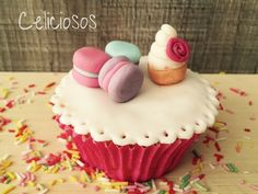 Técnicas de decoración de cupcakes con fondant SIN GLUTEN. Próximos cursos en septiembre.
