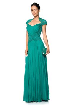 Green With Envy: 10 Glamorous Green Bridesmaid Dresses