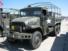 I REMEMBER SEEING THESE TRUCKS AT FORT SILL, OK BACK IN 1966 GMC XM211 6X6 Army Truck.