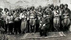 """Turkish basi bozuk in Bulgaria Bashi-bazouk or bashibazouk (Turkish literally """"damaged head"""", meaning """"free headed"""", """"leaderless"""", """"disorderly"""") was an irregular soldier of the Ottoman army. Particularly noted for their lack of discipline and massacres. Ottoman Turks, Turkish Army, Ottoman Empire, Old Photos, World War, Nostalgia, Islam, Istanbul, Culture"""