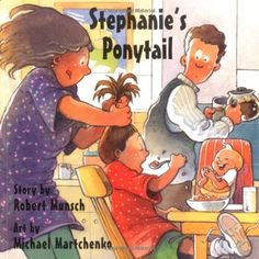 Stephanie's Ponytail (Classic Munsch) by Robert Munsch et al., http://www.amazon.com/dp/1550374842/ref=cm_sw_r_pi_dp_kZ5Eub0WBK78R