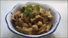 Funghi in crema vegan - Ricette di non solo pasticci