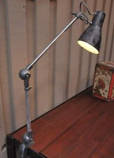 Bureau industrial table lamp 1950s
