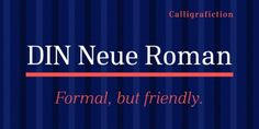 Font dňa – DIN Neue Roman   https://detepe.sk/font-dna-din-neue-roman?utm_content=buffer92339&utm_medium=social&utm_source=pinterest.com&utm_campaign=buffer