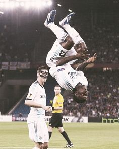 Victor Moses has scored in three straight Europa League games (FC Basel 1-2 Chelsea FC)