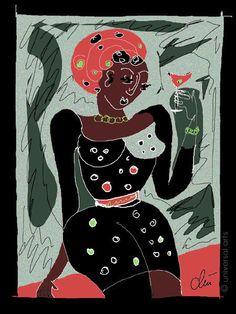 JACQUELINE DITT - The Last Martini - before Original Grafik ltd.signiert Bilder