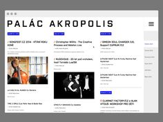 Palac Akropolis Web Redesign designed by Adam Hayek. Connect with them on Dribbble; Ableton Live, Let It Be, Acropolis