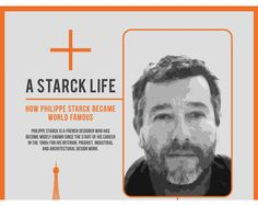 Infographic – Everything you wanted to know about Philippe Starck