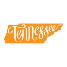 Silhouette Design Store: Tennessee state script