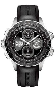 fdd58b7ad49 Pre-Basel 2014 - Hamilton Khaki X-Wind L.E. Chronograph Sport Watches
