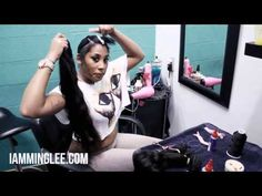 How to do a Quick Weave (PRONTO)  @iamminglee