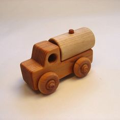 Handcrafted Wooden Water Truck