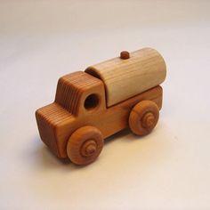 Handcrafted Wooden Water Truck