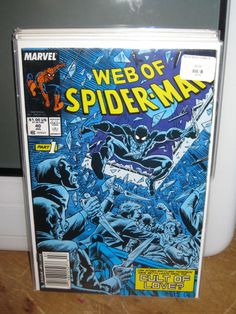WEB OF SPIDER-MAN #40 AMAZING SPIDER-MAN MARVEL COMICS