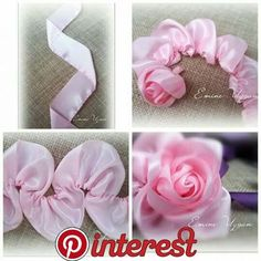 Wonderful Ribbon Embroidery Flowers by Hand Ideas. Enchanting Ribbon Embroidery Flowers by Hand Ideas. Ribbon Flower Tutorial, Ribbon Embroidery Tutorial, Silk Ribbon Embroidery, Hand Embroidery, Embroidery Patterns, Embroidery Supplies, Rose Tutorial, Embroidery Shop, Embroidery Saree