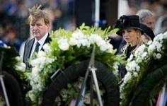 Koning Alexander en Koningin Maxima, Dodenherdenking, 4 mei 2013.