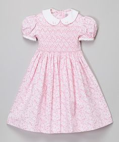 This Pink Floral Dress - Infant, Toddler & Girls is perfect! #zulilyfinds