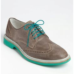 Air Franklin Wingtip Oxford - $195.95 - like this for a flambo guy or maybe even with lacy knee socks for a girly interpretation