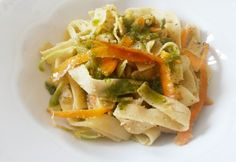 Pesto, Cabbage, Spaghetti, Vegetables, Ethnic Recipes, Dios, Cabbages, Vegetable Recipes, Noodle
