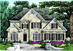 Chattahoochee - Home Plans and House Plans by Frank Betz Associates