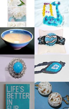 Blue and white game, Integritytt Wednesday Wonder by Marie ArtCollection on Etsy--Pinned with TreasuryPin.com