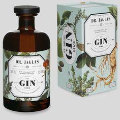 c_sm_visual concept GIN-seng Beverage Packaging, Bottle Packaging, Bottle Labels, Brand Packaging, Alcohol Bottles, Gin Bottles, O Gin, Gin Brands, Gin And Tonic