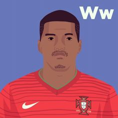 W is for William Carvalho. #tpitr #worldcupaz #atoz