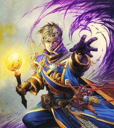 Anduin Wrynn by Wayne Reynolds Wayne Reynolds, Dota Warcraft, Warcraft Art, World Of Warcraft Film, Fantasy World, Fantasy Art, Varian Wrynn, Hearthstone Heroes Of Warcraft, Character Art