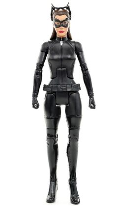 """DC The Dark Knight Rises Movie Masters CATWOMAN Goggles Up 6"""" Action Figure 2012 #Mattel"""