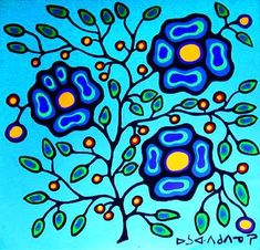 Norval Morriseau's work has inspired three generations of Native Canadian Artists. His style and his body of work speak volumes about his love of his people and the land. Native Canadian, Canadian Artists, Native American Art, Art Hippie, Kunst Der Aborigines, Aboriginal Artists, Aboriginal Culture, Aboriginal Artwork, Woodland Art