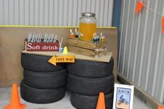 Dirt Bike Themed Birthday Party with Lots of Awesome Ideas via Kara's Party Ideas | Kara'sPartyIdeas.com #Motorcross #DirtBike #Party #Ideas #Supplies (15)
