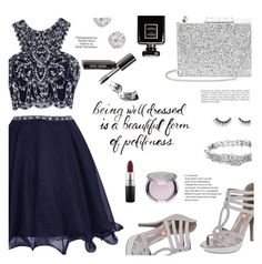 """""""beautiful dress for lovely lady"""" by maily-nars ❤ liked on Polyvore featuring Aspinal of London, Accessorize, Kate Spade, MAC Cosmetics, Sephora Collection, tarte, Chanel, Industrie, Bobbi Brown Cosmetics and beautiful"""