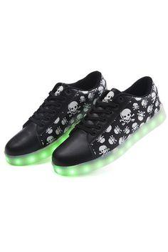 Luminous Shoes USB Charging LED Unisex Leisure Sandals (Black) | ราคา: ฿900.00 | Brand: Unbranded/Generic | See info: http://www.topsellershoes.com/product/19290/luminous-shoes-usb-charging-led-unisex-leisure-sandals-black