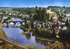 Castle of Runkel Beautiful view ....appears to be from Schadeck...on other side of River Lahn