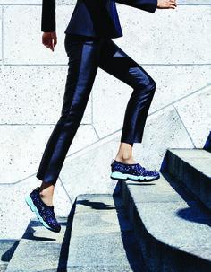Les baskets couture de Dior | DailyELLE …