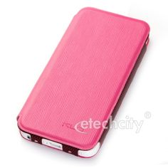 KLD Charming II Series Ultra Slim Leather Case for Apple iPhone 5 [LCEH-KDAIPH5] - $20.00 : Pink