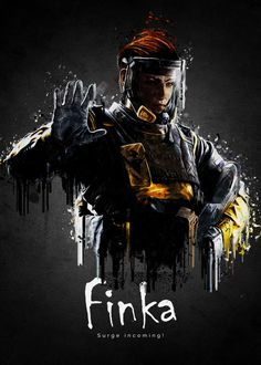 """Rainbow Six Siege Characters Finka #Displate artwork by artist """"TraXim"""". Part of a 37-piece set featuring artwork based on characters from the popular Rainbow Six video game. £24 / $34 (Small), £34 / $49 (Medium), £74 / $106 (Large), £125 / $179 (XL), £238 / $340 (XXL) #RainbowSix #RainbowSixSiege #TomClancy #TomClancysRainbowSix #Rainbow6 #Rainbow6Siege #TomClancysRainbow6 #Ubisoft #Finka"""