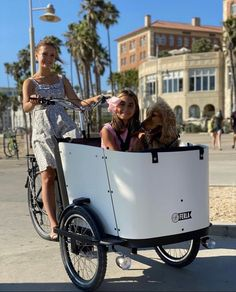 One way to experience outdoor fun in the sun in 2021 is by taking the family and furry friends on a spin on the Ferla Family cargo Bike. 🚲 🐕 🏖️ #cargobike #cargobikes #cargobikelove #cargobikelife #cargobikecamp #familybike #bikesforkids #bikesonthebeach #beachbike #beachbikes Electric Cargo Bike, Electric Motor, Fall Protection Harness, E Bike Battery, Bike Run, Roll Cage, Side Door, Bike Accessories, Front Brakes