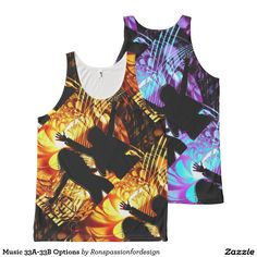 Music 33A-33B Options All-Over Print Tank Top