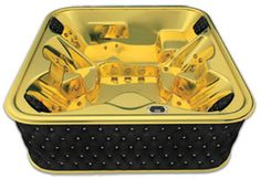 Very Exclusive  Golden 24 carat  Spa now limited edition and available for purchase more models available , price from $735,000 and upon request ,mail for details 21092012-25