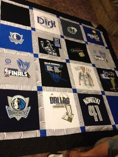 How to Make a Quilt from Tee Shirts: 11 Steps (with Pictures)