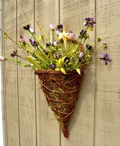 Wonderful Flower Basket For Front Door Pictures   Exterior Ideas 3D .