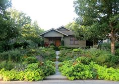 craftsman style landscaping ideas | Cottage Style Garden Design Ideas, Pictures, Remodel, and Decor