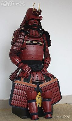 Iron Mountain Armory online catalogue of authentically handcrafted samurai armor. Battle ready samurai armor handmade in the traditional manner and customizable. Oni Samurai, Samurai Helmet, Samurai Weapons, Helmet Armor, Arm Armor, Body Armor, Ancient Armor, Medieval Armor, Japanese Warrior