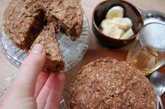 Ontbijttaart van havermout en banaan | Jouw Fabriek