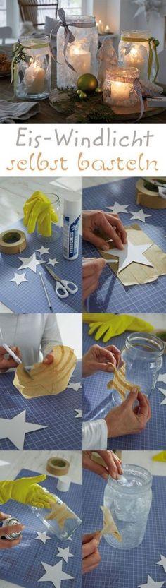 Suchst du noch schöne Teelichthalter für deine Winterdekorationen? 8 tolle Ideen! - Seite 9 von 9 - DIY Bastelideen