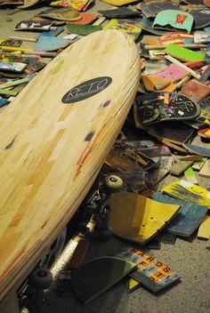 Longboard Retro Days: RETO | Hollow Wood Surfboard by Bjorn Holm